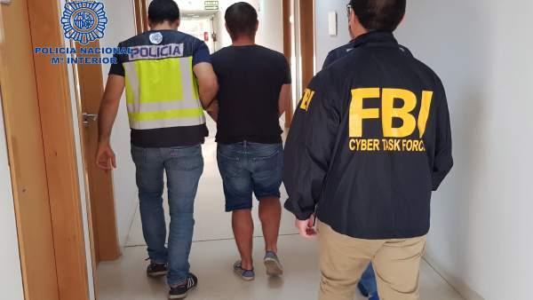 Detenido en Huelva el supuesto autor de ciberataques a nivel mundial.