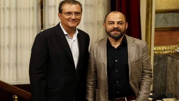 Garaulet y Martínez, en el Congreso