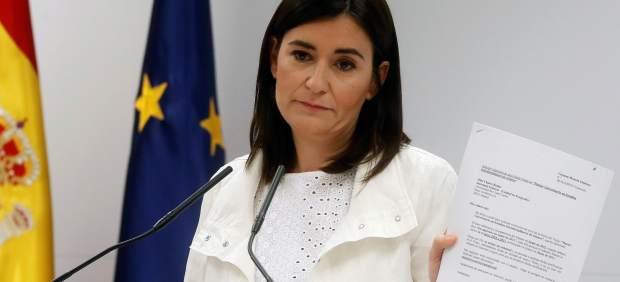 La ministra de Sanidad, Carmen Montón