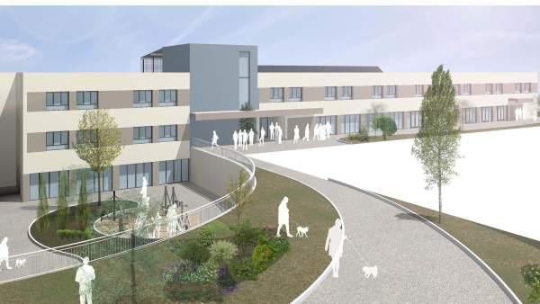 Imagen del proyecto de residencia en Cascajos