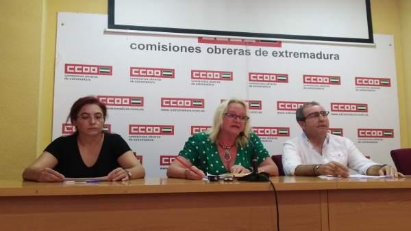 Secretaría general de CCOO Extremadura, Encarna Chacón