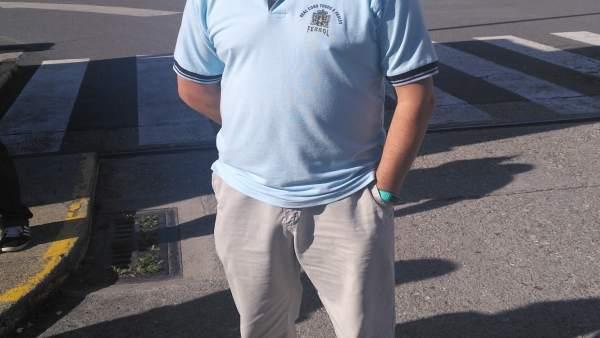Javier Galán, presidente del Comité de Empresa de Navantia Ferrol