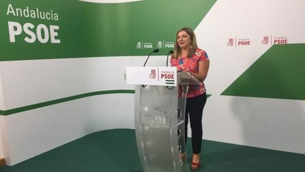 Irene García, secretaria provincial del PSOE en Cádiz