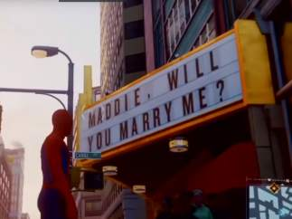 Huevo de Pascua en el videojuego 'Marvel's Spider-Man'.