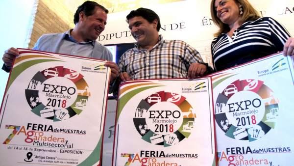 Presentación de la séptima edición de ExpoMarmolejo.