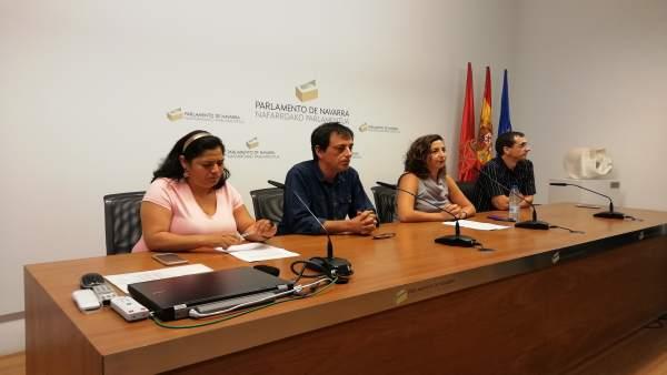 Fanny Carrillo, Carlos Couso, Laura Pérez y Rubén Velasco.