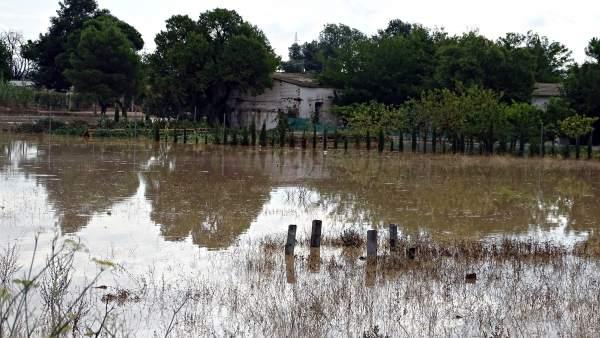 Inundaciones en Albacete