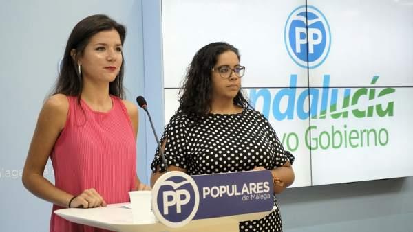 Caetano (NNGG) rueda de prensa sobre bilingüismo
