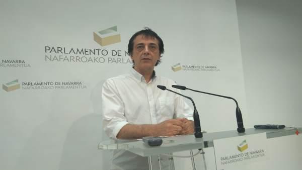 Carlos Couso, parlamentario de Podemos