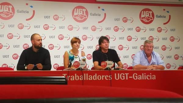 UGT insta a Educación a restituir los derechos perdidos por profesores gallegos.