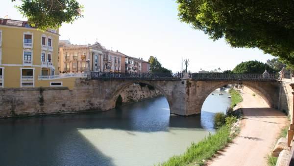 Imagen del Puente Viejo facilitada por Huermur. FOTO DE ARCHIVO