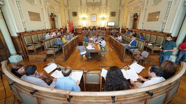 Pleno municipal en el Ayuntamiento. 10-9-2018