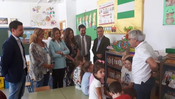 Inauguración del curso 2018-2019 en segundo ciclo de Infantil y Primaria en Jaén
