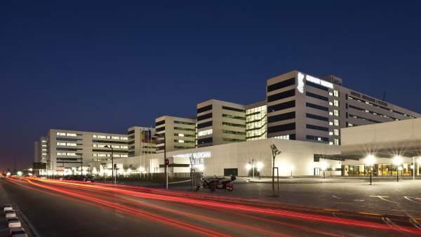 Imagen del Hospital La Fe de València
