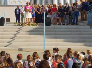Inauguración del curso escolar 2018-19 en el CEIP Reyes Católicos de Vera