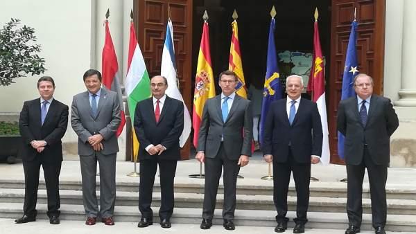Presidentes de la 'España vacía'.