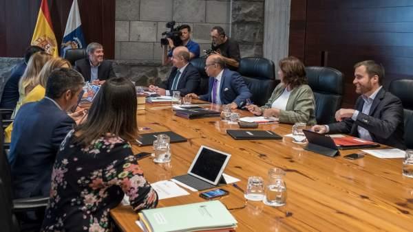 Reunión del Consejo de Gobierno de Canarias de este lunes, 10 de septiembre