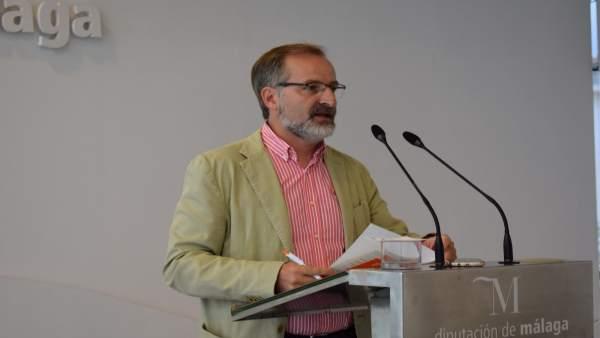 El portavoz de Cs en la Diputación, Gonzalo Sichar