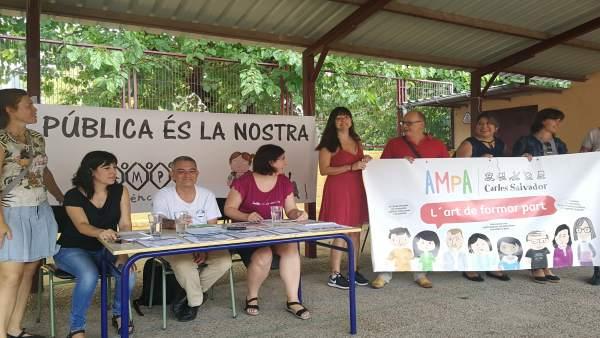 """Fampa-València adverteix que queda """"molt per fer"""" per l'escola pública i demana que Edificant """"siga una realitat"""""""