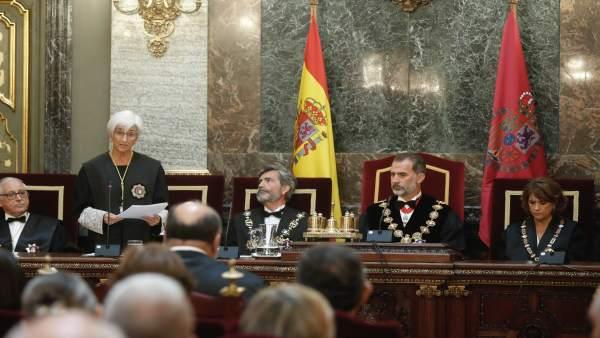 El Rey Felipe VI preside la apertura del Año Judicial