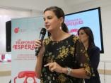 Sandra Gómez presenta el Telèfon de les Oportunitats