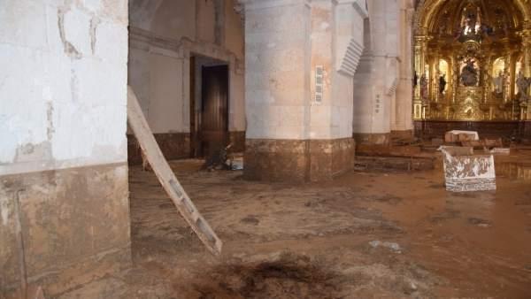 Estado del Monasterio de Santa María.