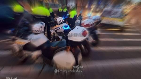 Patrulla de la Policía Local de Sevilla