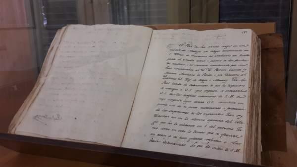 El Ayuntamiento De Málaga Informa: El Archivo Municipal Expone Un Documento Del