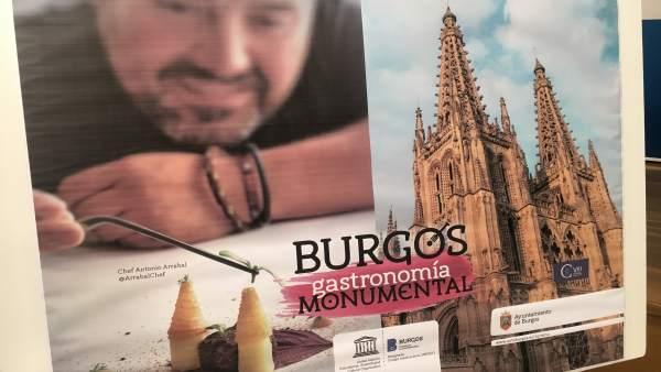Promoción de la gastronomía y patrimonio burgalés.