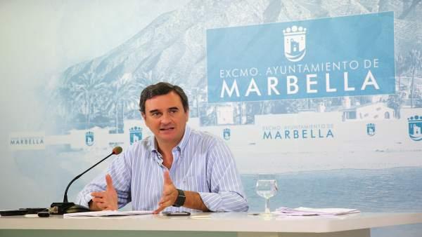 Felix Romero, portavoz del equipo de gobierno de Marbella