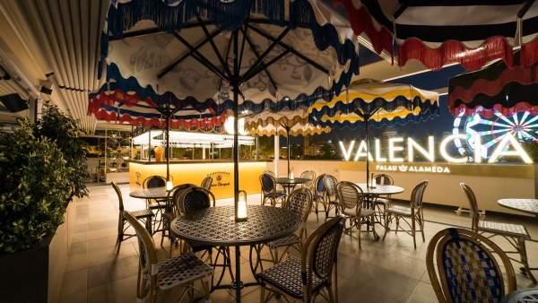 El complex d'oci gastronòmic Palau Alameda de València s'inaugura el 13 de setembre