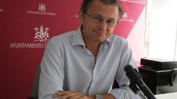 David Dorado en el Ayuntamiento
