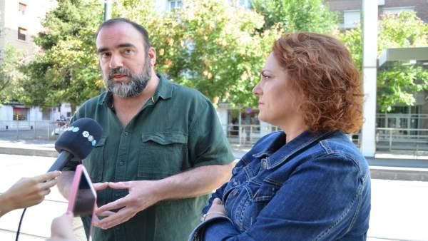 Puentedura y Pérez, en rueda de prensa sobre el metro