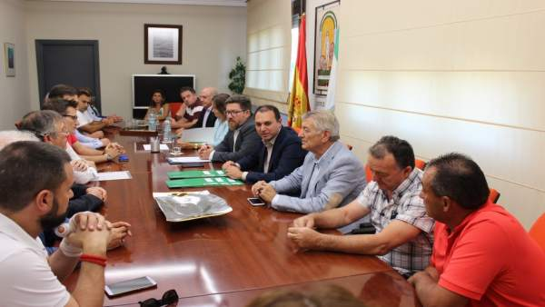 Sánchez Haro preside el acto de entrega de ayudas para modernizar regadíos