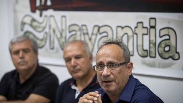 Trabajadores de Navantia