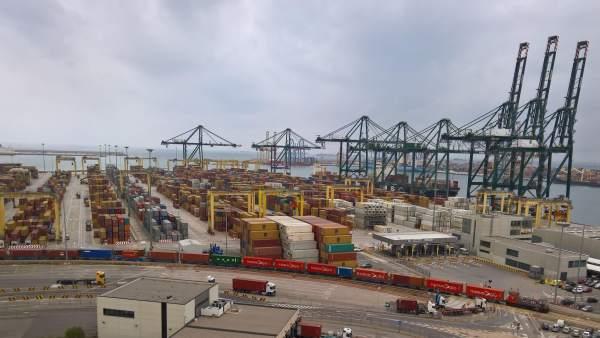 Puerto de València en imagen de archivo
