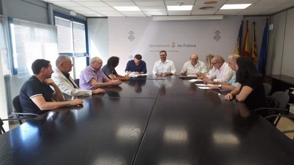 Acuerdo para una nueva zona verde en la Playa de Palma