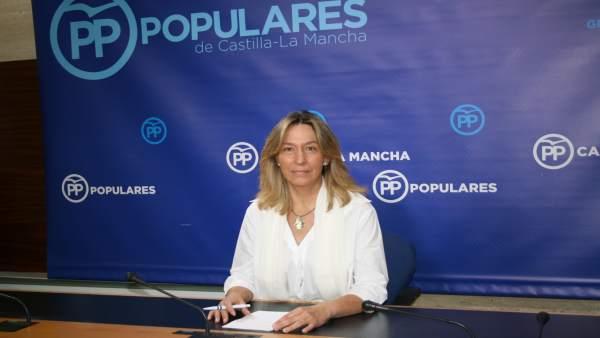Gpp Clm (Cortes De Voz Y Fotografía) Rueda De Prensa De Ana Guarinos