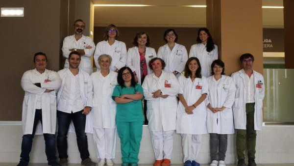 Profesionales del Servicio de Microbiología del CHN.