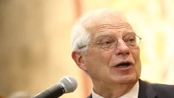 Intervención de Borrell en la toma de posesión de la nueva directora de la AECID