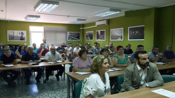 Reunión sobre seguros agrarios en COAG