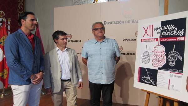 Presentación XII Concurso de Pinchos de Fuensaldaña  11-9-2018