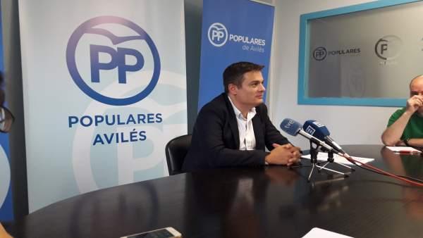 Pedro de Rueda, diputado del PP