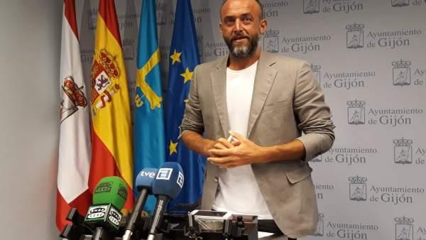 DAVID ALONSO, CONCEJAL XIXÓN SÍ PUEDE EN EL AYUNTAMIENTO DE GIJÓN