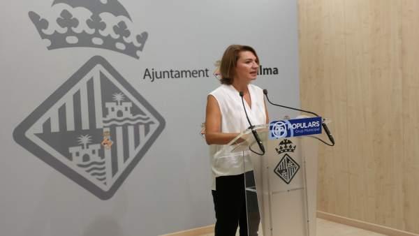Portavoz del PP en Cort, Marga Durán
