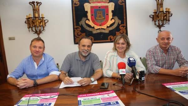 Nota Y Foto: Escuela Municipal De Natación Deportiva De Camargo