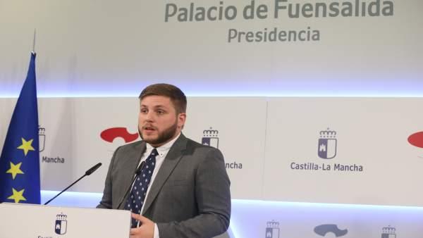 Nacho Hernando, portavoz del Gobierno de C-LM
