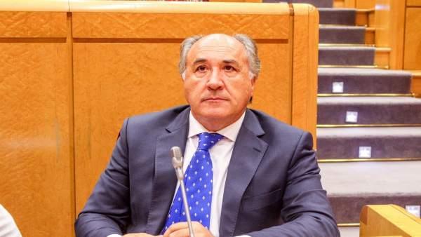 El senador y alcalde de Algeciras José Ignacio Landaluce