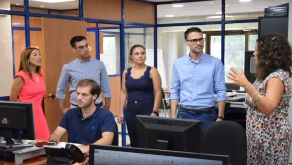 PSOE Visita Grupo Euroformac