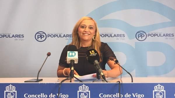 Elena Muñoz, portavoz municipal del PP